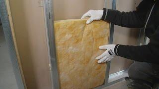 Lydisolering af væg. Lyddæmpning med indvendig vægisolering. Se her hvordan