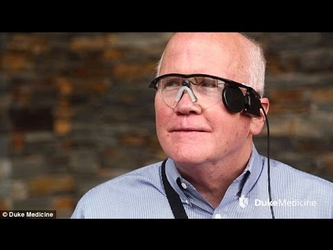 Watch A Blind Man Get His Vision Back