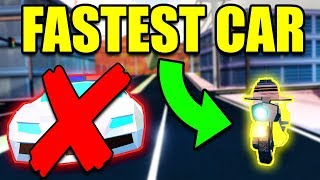 The NEW Fastest Car In Jailbreak... (BEST CAR) | Roblox Jailbreak New Update