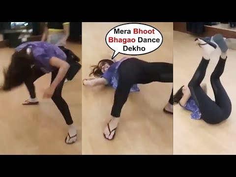 Shraddha Kapoor Funny Dance Video From Street Dance 3d Set