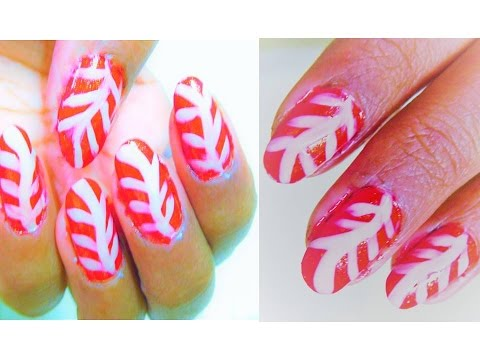 Nail art with red and white combination easy designs make yourself nail art with red and white combination easy designs make yourself step by step solutioingenieria Images