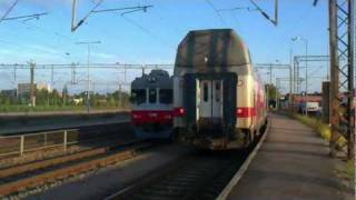 Sr2 arriving to Riihimäki, Finland - Tåg / Train / Juna