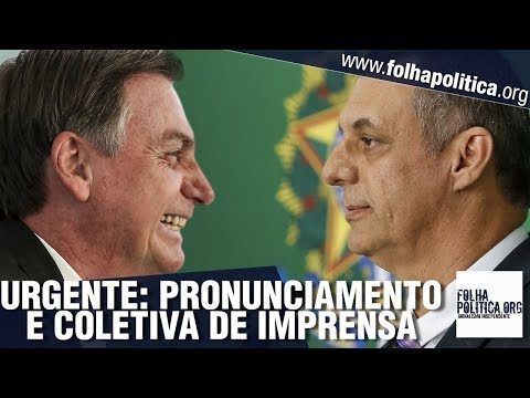 URGENTE: Coletiva de imprensa do Governo Bolsonaro: Condenação de Lula, General Mourão