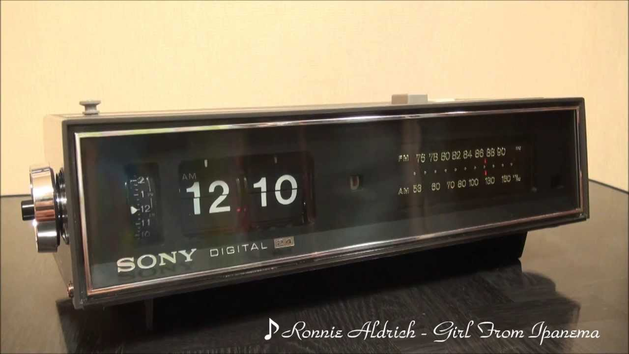 sony 8fc 59 1968 the world 39 s first digital alarm clock radio youtube. Black Bedroom Furniture Sets. Home Design Ideas