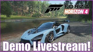 Forza Horizon 4 Demo Livestream!