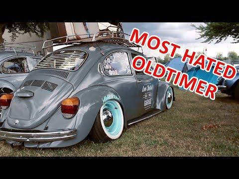 Tiefstes Auto auf dem Oldtimertreffen..