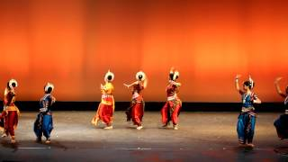 Center for World Music Odissi Dance Academy - India.MOV