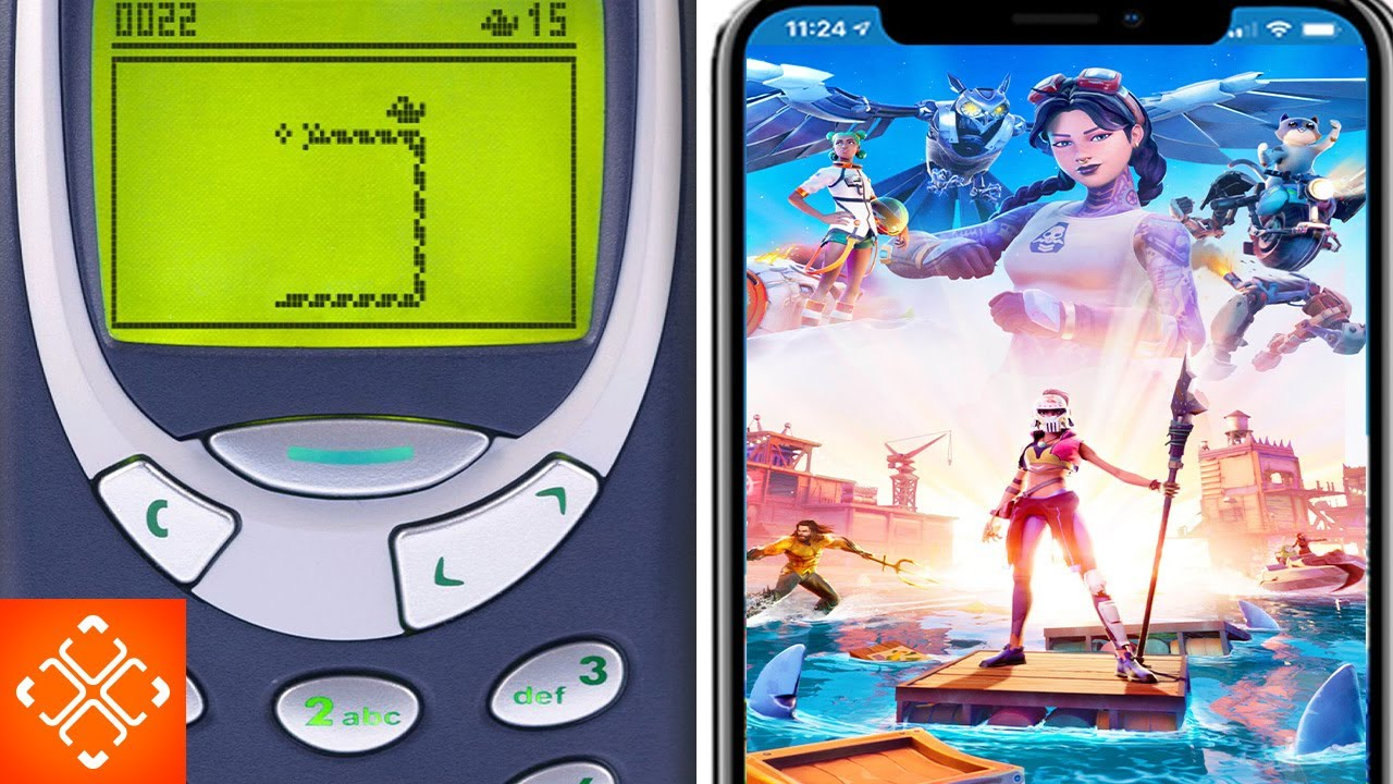 Nokia vs iPhone 12: The Evolution Of Mobile Gaming
