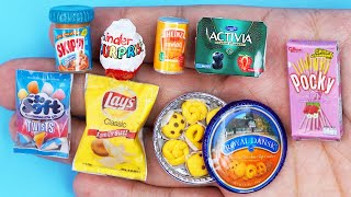 15 DIY MINIATURE BARBIE ~ Miniature of Food and Drinks, Life Hacks crafts !!!