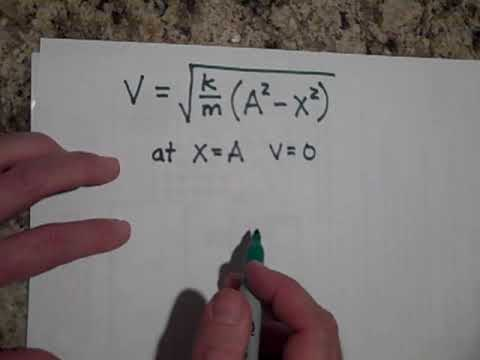 Simple Harmonic Motion and Energy Conservation