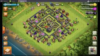 clash of clans|how to increase experience level fast? troops donation in clash of clans