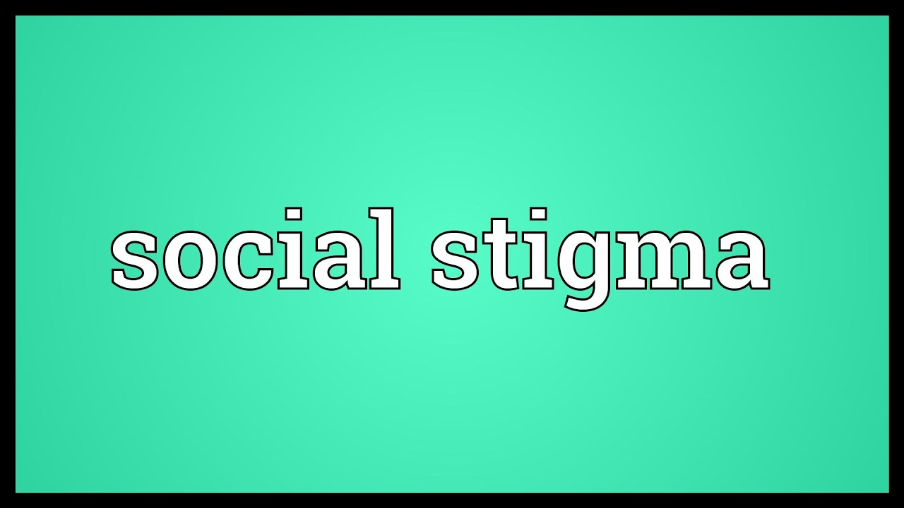 Social stigma Meaning - YouTube