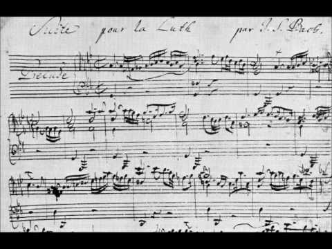 j.s. bach: prelude in g minor bwv 995, played by narciso yepes (14-course lute)