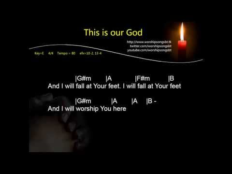Hillsong - This is our God Karaoke, backing track,cover