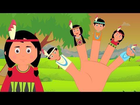 Finger-Familie | Kinderlieder | Lieder für Babys | Nursery Rhyme and Baby Song | Finger family Rhyme