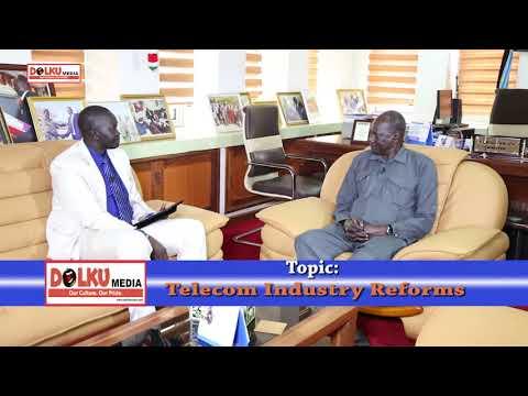 Michael Makuei Lueth on Vivacell Shutdown & South Sudan Telecom Industry Reforms