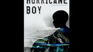 Book Trailer for Hurricane Boy with music