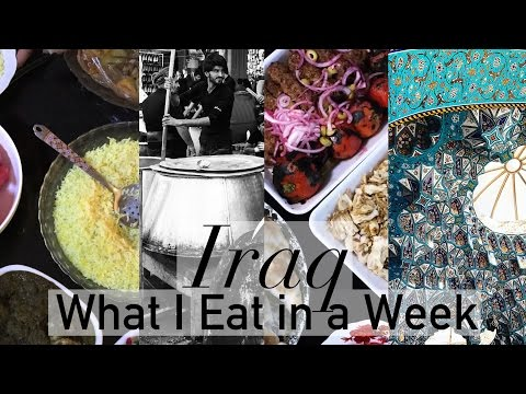 Iraq Vlog | Camel Meat Curry, Street Food & Fresh Cream | What I Eat in a Week #8