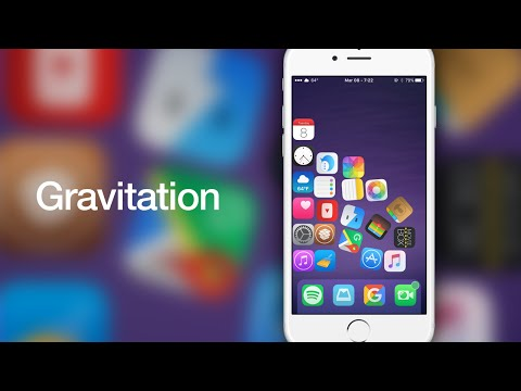 iOS 9 Cydia Tweaks: Gravitation - Add Gravity To Your Home Screen