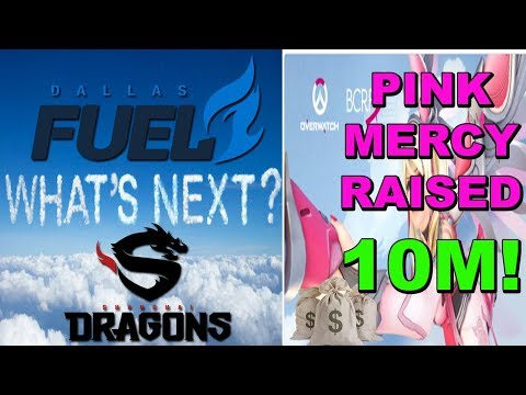 Overwatch Raised 10 MILLION Dollars For BCRF! Dallas Fuels Future! 0-40 The Shanghai Dream!