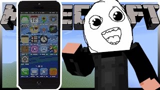 Funkčný iPhone 6 v Minecrafte?! - CZ/SK