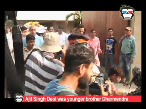 Dharmendra breaks down at funeral of Younger brother Ajit Singh Deol