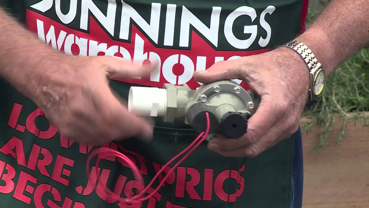 How To Install Fixed Pipe Irrigation - DIY At Bunnings - YouTube