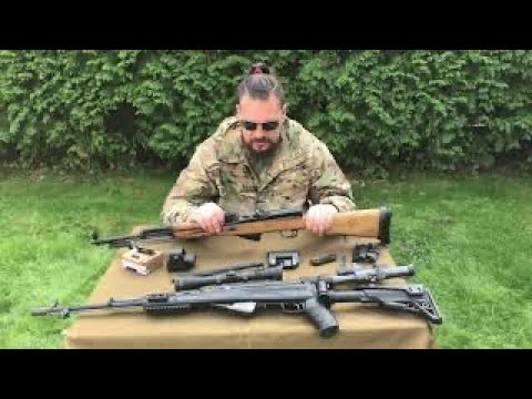 О боковых креплениях на Самозарядный Карабин Симонова (СКС)