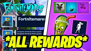 Complete Fortnitemares Quests & ALL FREE REWARDS (Fortnite)