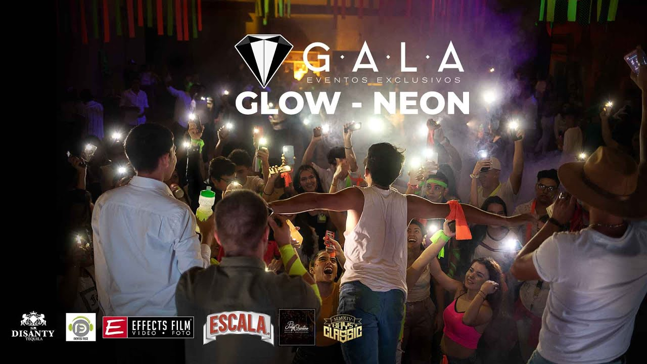 UNA FIESTA NEON  DE VERDAD ► EFFECTS FILM