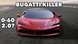 THE NEW 1000HP FERRARI SF90 WILL KILL BUGATTI!