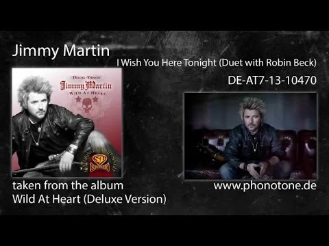 Jimmy Martin - I Wish You Here Tonight (Duet with Robin Beck)