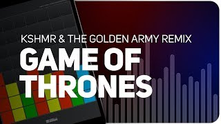 Playing GAME OF THRONES | KSHMR & The Golden Army Remix on SUPER PADS LIGHTS - KIT GOFT