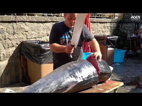 Thumbnail: Fish Cutting in Sicily: Tuna and Swordfish