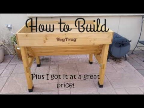 How to Build the Veg Trug Planter