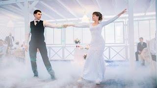 Свадебный танец Елены Хрусталевой в платье Elena Romanova