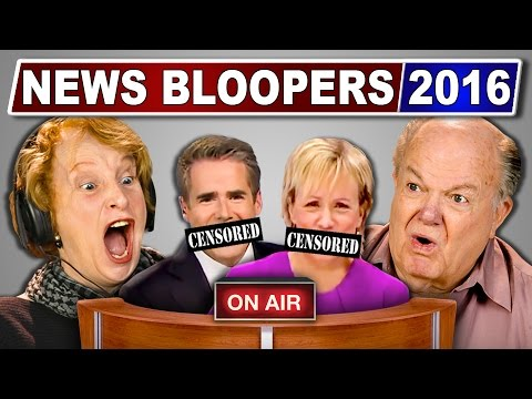 Thumbnail: ELDERS REACT TO NEWS BLOOPERS 2016