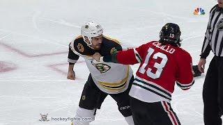Adam McQuaid vs Daniel Carcillo Feb 22, 2015
