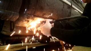 Chevy Silverado Rocker Repair. part 1