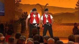 Comedy-Duo Messer&Gabel live auf SF1 - 1. Teil