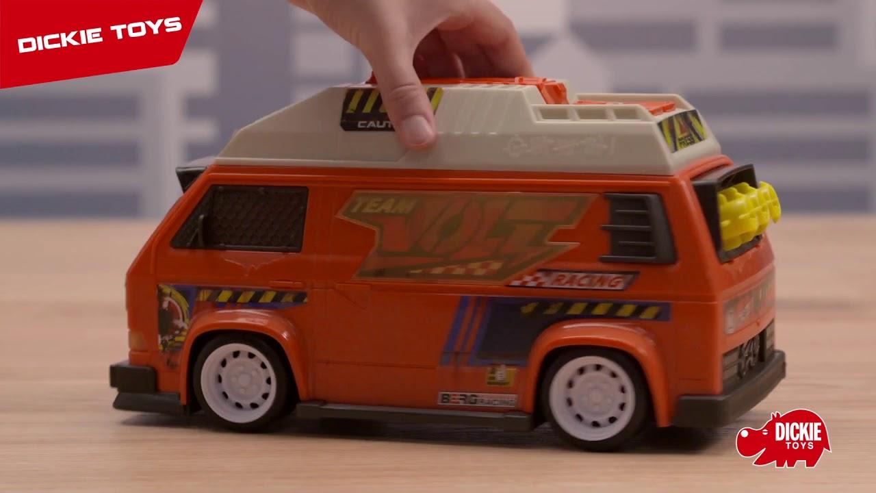Машинка Dickie с залповой установкой VW T3 Camper 28 см