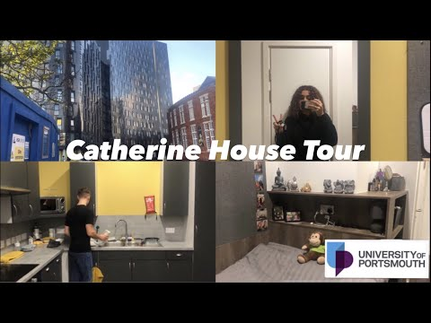 University Of Portsmouth Accommodation Tour | Catherine House