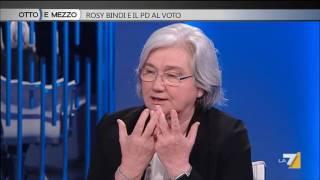 Otto e mezzo - Rosy Bindi e il PD al voto (Puntata 01/06/2016) thumbnail