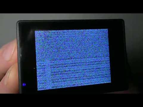 Белый экран в экшн камере V3 4K.