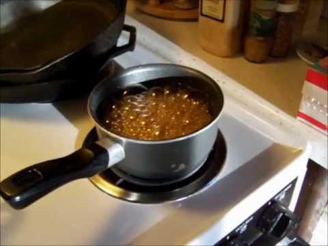 Sugar On Snow - Maple Syrup Recipe