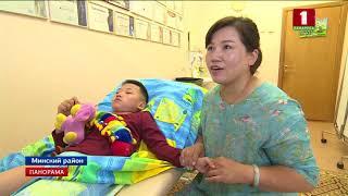 Дети из Китая диагнозом ДЦП проходят 20-дневный курс восстановления в Беларуси. Панорама
