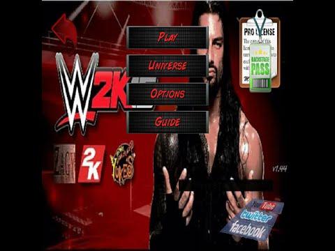 WWE 2K16 Mod WR3D (NEW) by Burak Modding