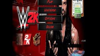WWE 2K16 Mod WR3D (NEW)