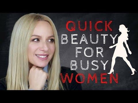 Γρήγορα Tips Ομορφιάς για Πολυάσχολες Γυναίκες | Gina