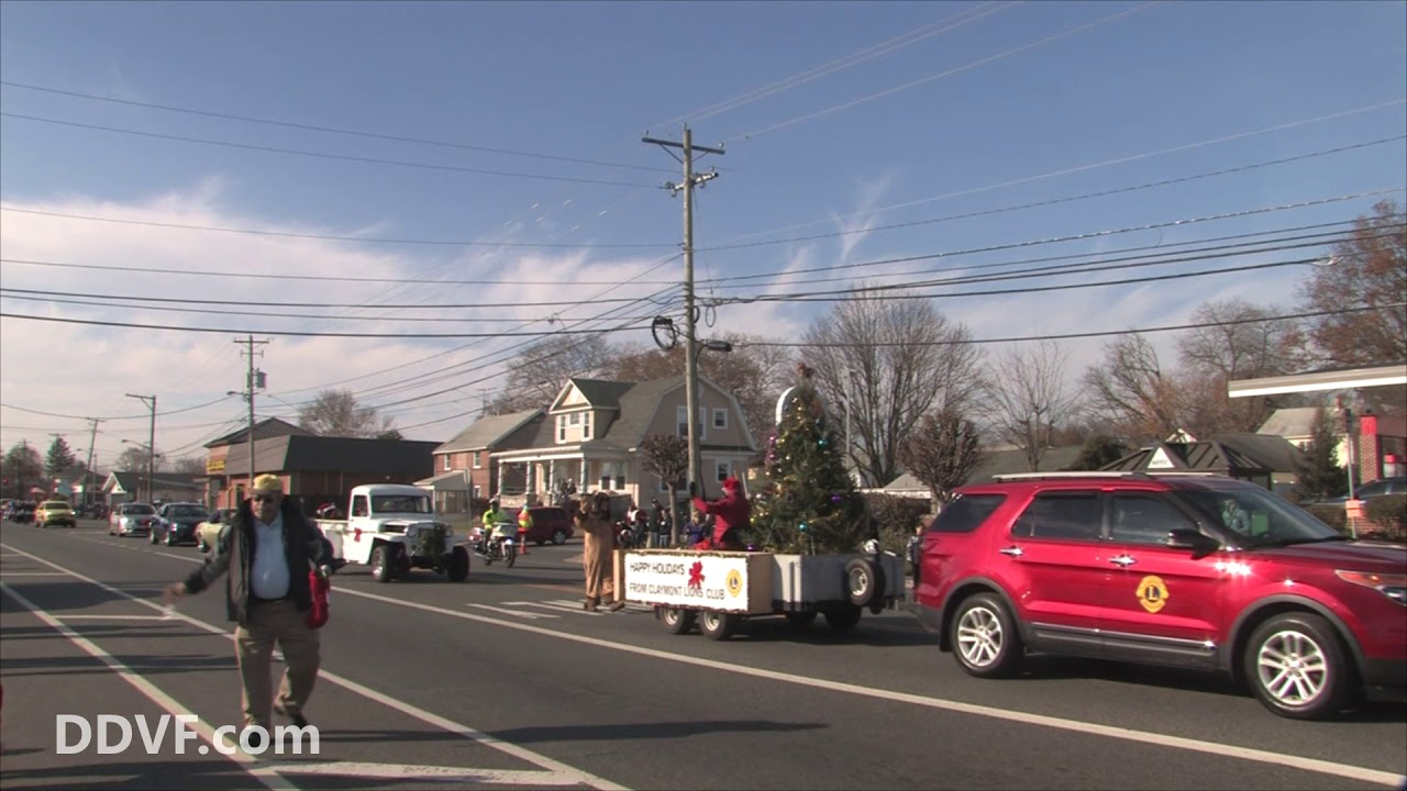 2017 Claymont Christmas Parade - YouTube